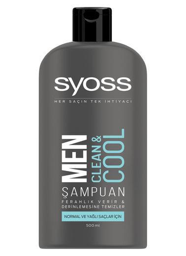 Syoss Syoss Men Clean & Cool Şampuan 550 Ml Renksiz